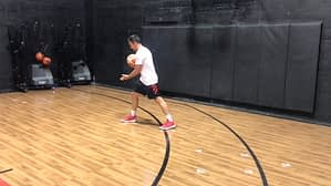 One Dribble Two Step Finish
